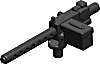 BrickArms: M1919 Machine Gun (Black)