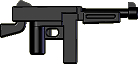 BrickArms: M1A1 Submachine Gun (Black)