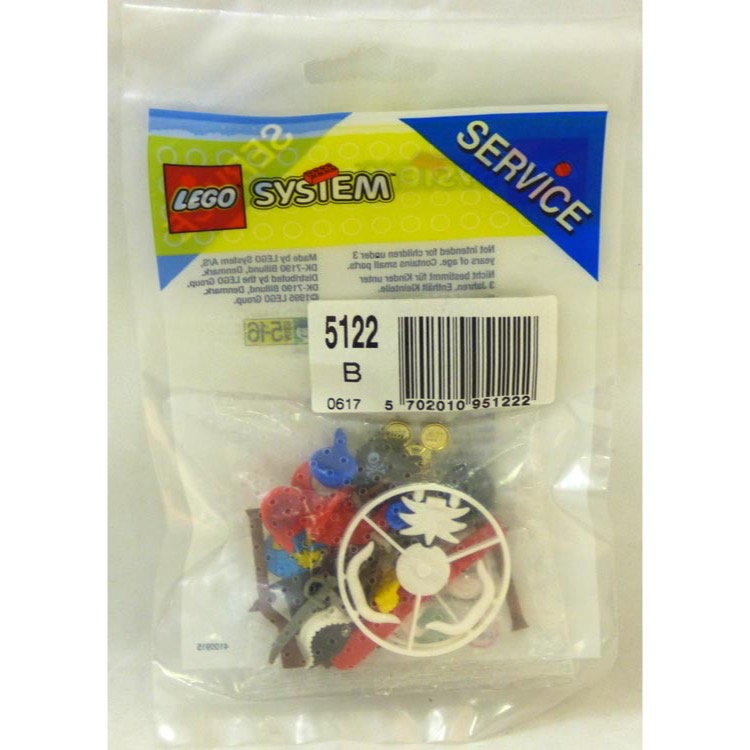 LEGO Service Pack Sets: LEGO Pirate 5122 Accessories NEW