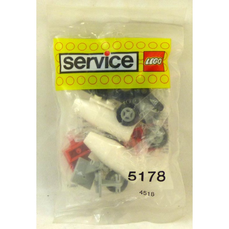 LEGO Service Pack Sets: 5178 Airplane Elements NEW