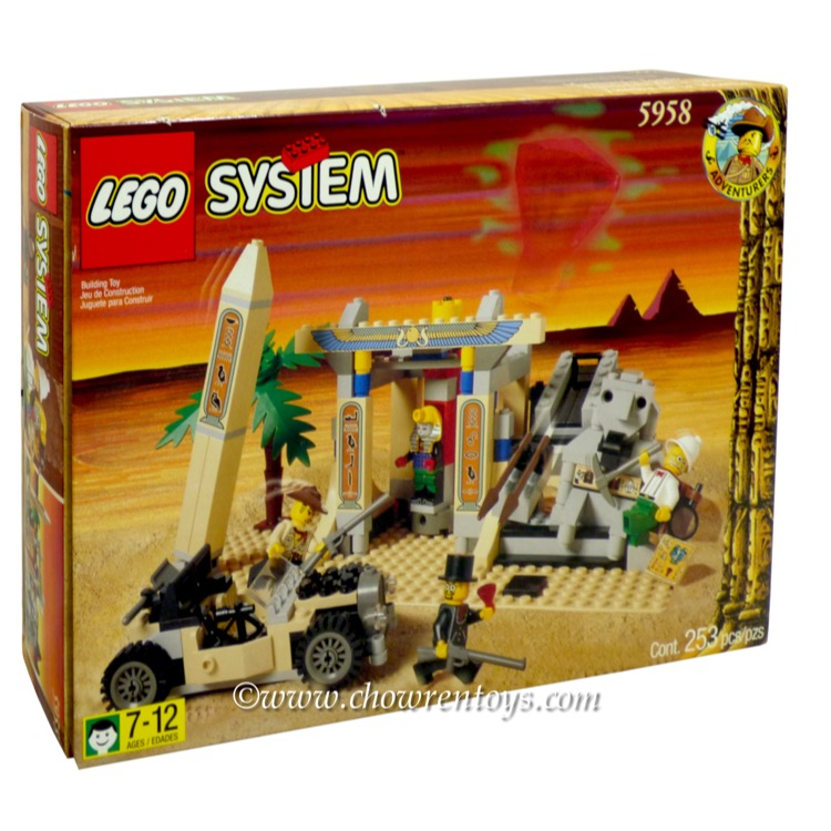 LEGO Adventurers Sets: Egypt 5958 Mummy's Tomb NEW