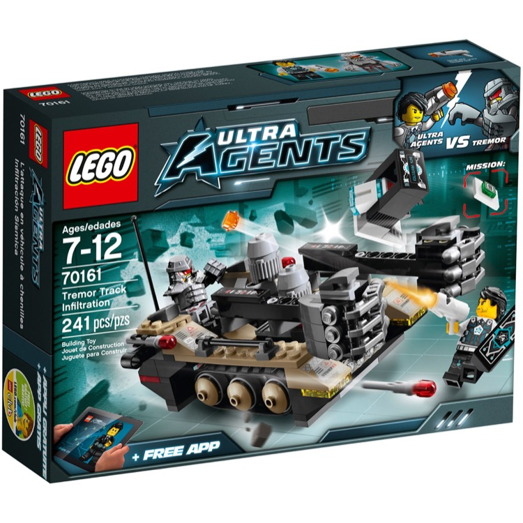 LEGO Ultra Agents Sets: 70161 Tremor Track Infiltration NEW