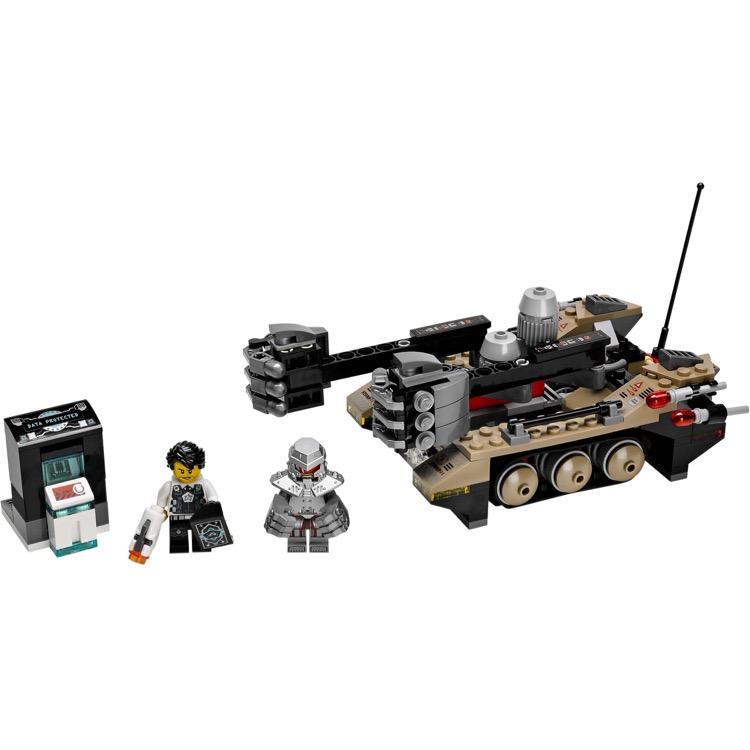 lego agents sets ultra agents 70161 tremor track infiltration new. Black Bedroom Furniture Sets. Home Design Ideas