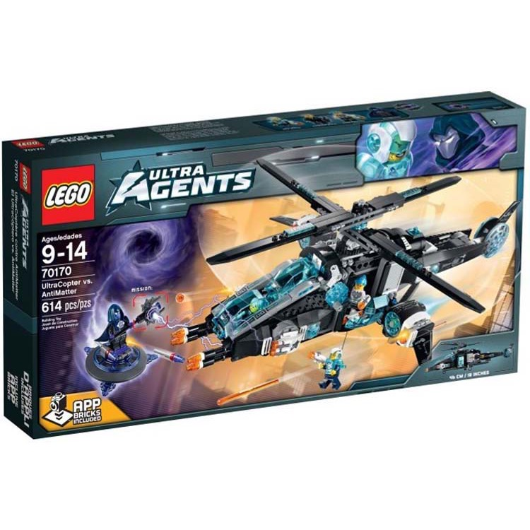 LEGO Agents Sets: Ultra Agents 70170 UltraCopter vs. AntiMatter NEW