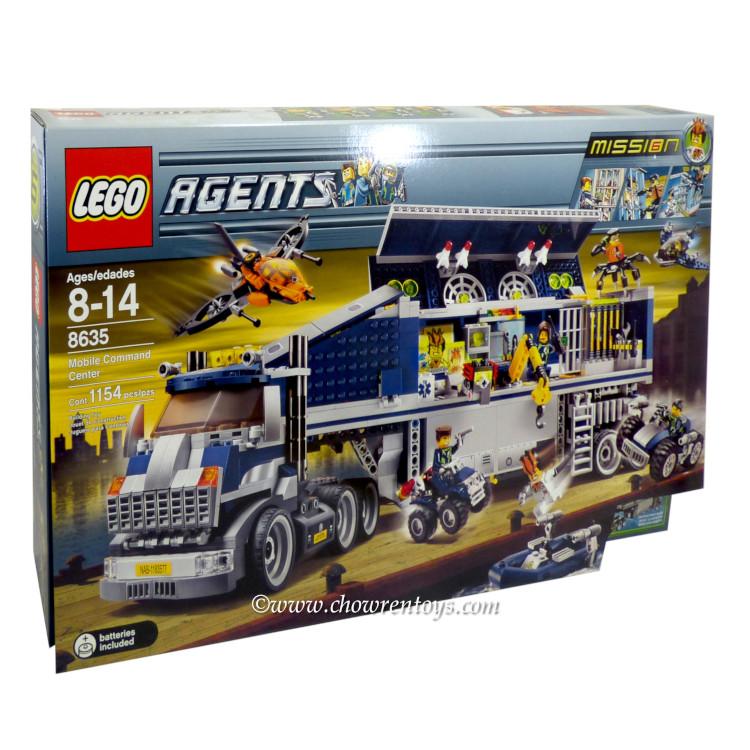 Lego Agents Mission 6 LEGO Agents Set...