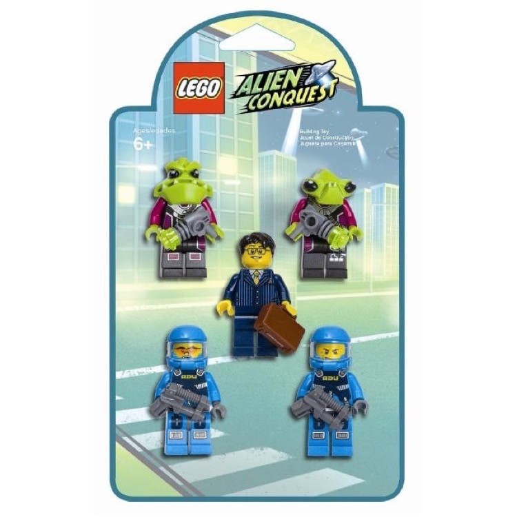LEGO Alien Conquest Sets: 853301 Battle Pack Minifigures NEW