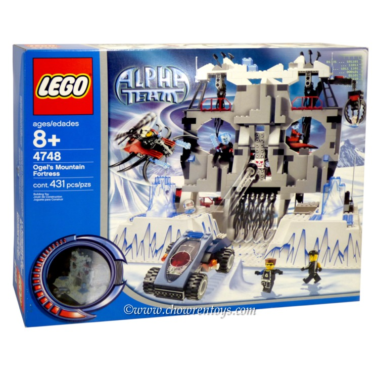 LEGO Town Sets: LEGO Alpha Team Arctic 4748 Ogel's Mountain Fortress NEW