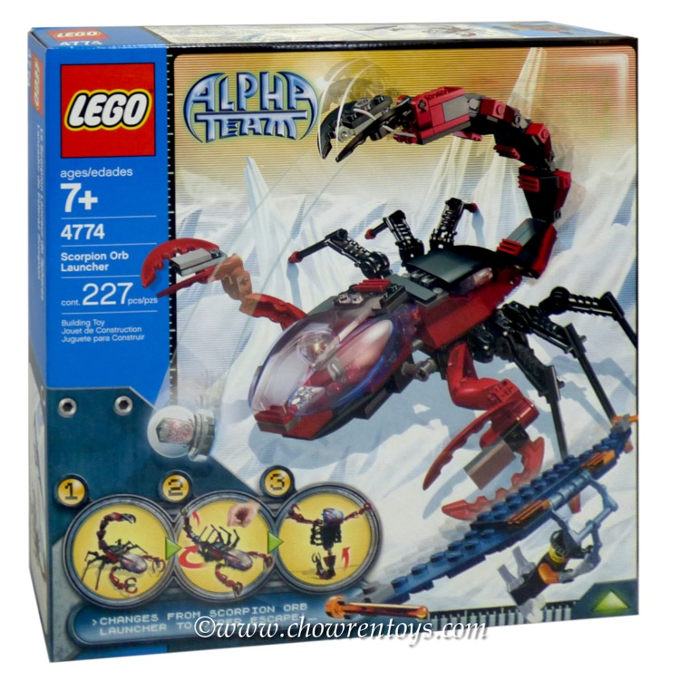 LEGO Town Sets: LEGO Alpha Team Arctic 4774 Scorpion Orb Launcher NEW