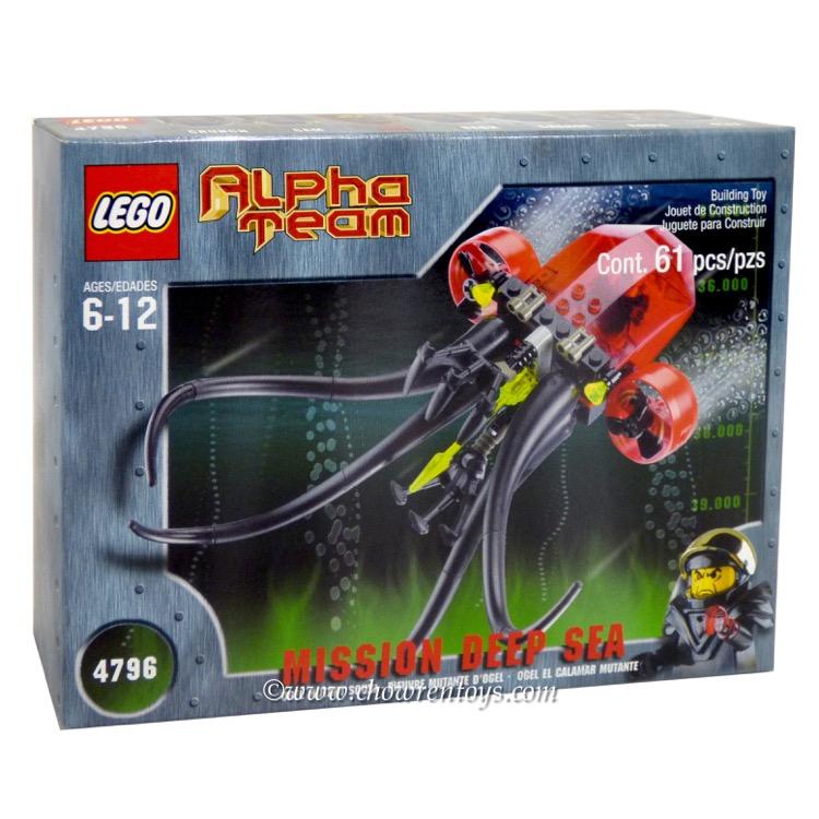 LEGO Alpha Team Sets: 4796 Ogel Mutant Squid NEW