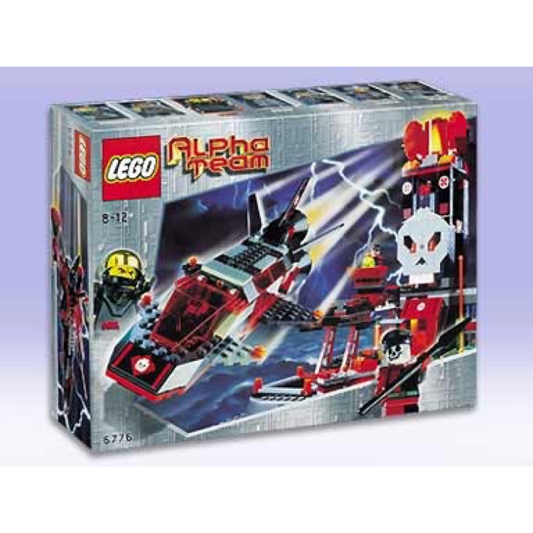 LEGO Town Sets: Alpha Team 6776 Ogel Control Center NEW