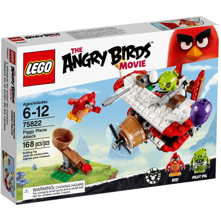 LEGO Angry Birds Sets: 75822 Piggy Plane Attack NEW