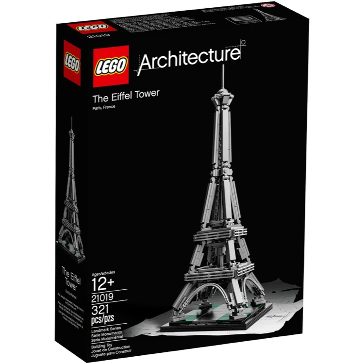 LEGO Architecture Sets: 21019 The Eiffel Tower NEW