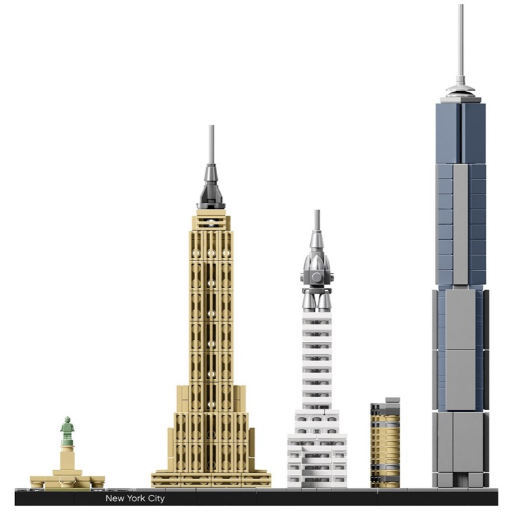 Lego architecture sets 21028 new york city new for Lego architecture new york