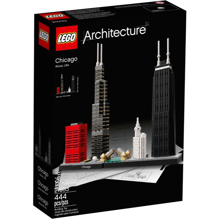 LEGO Architecture Sets: 21033 Chicago NEW