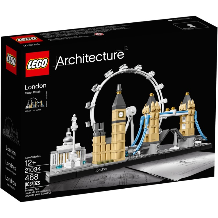 LEGO Architecture Sets: 21034 London NEW