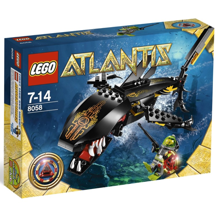 LEGO Atlantis Sets: 8058 Guardian of the Deep NEW