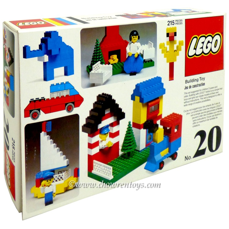LEGO Basic Sets: 20 Universal Building Set NEW *Sticker Damage*