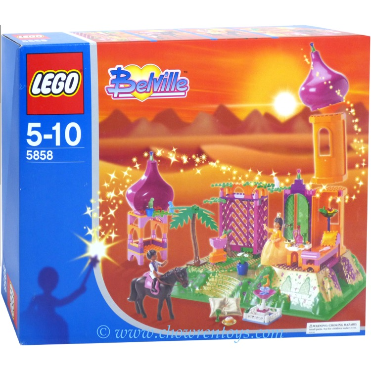 LEGO Belville Sets: 5858 The Golden Palace NEW *Rough Shape*