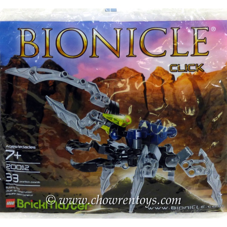 LEGO Bionicle Sets: 20012 BrickMaster - Bionicle NEW