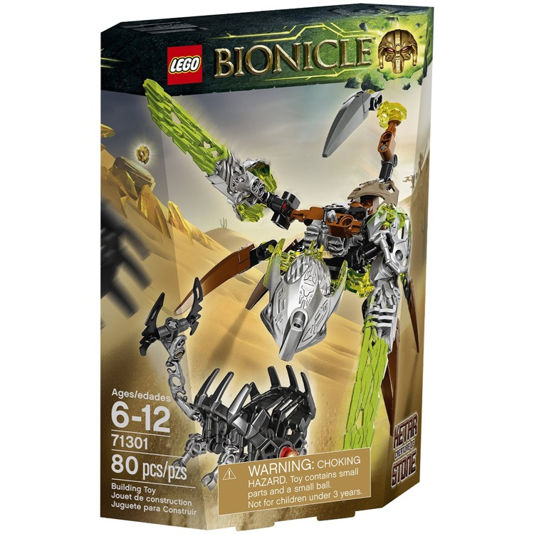 LEGO Bionicle Sets: 71301 Ketar - Creature of Stone NEW