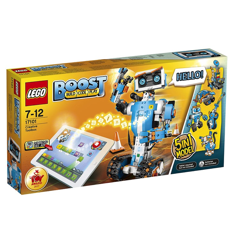 LEGO Boost Sets: 17101 Creative Toolbox NEW