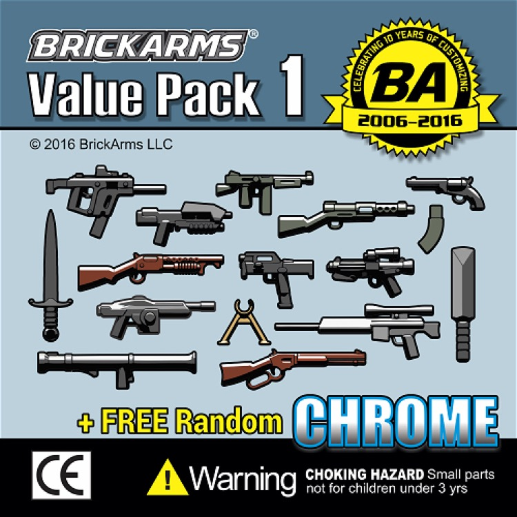 BrickArms: Value Pack 1