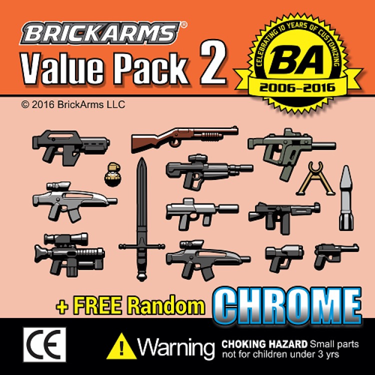 BrickArms: Value Pack 2