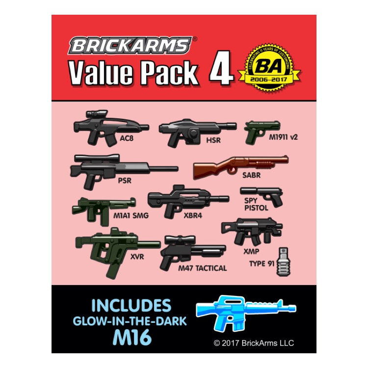 BrickArms: Value Pack 4