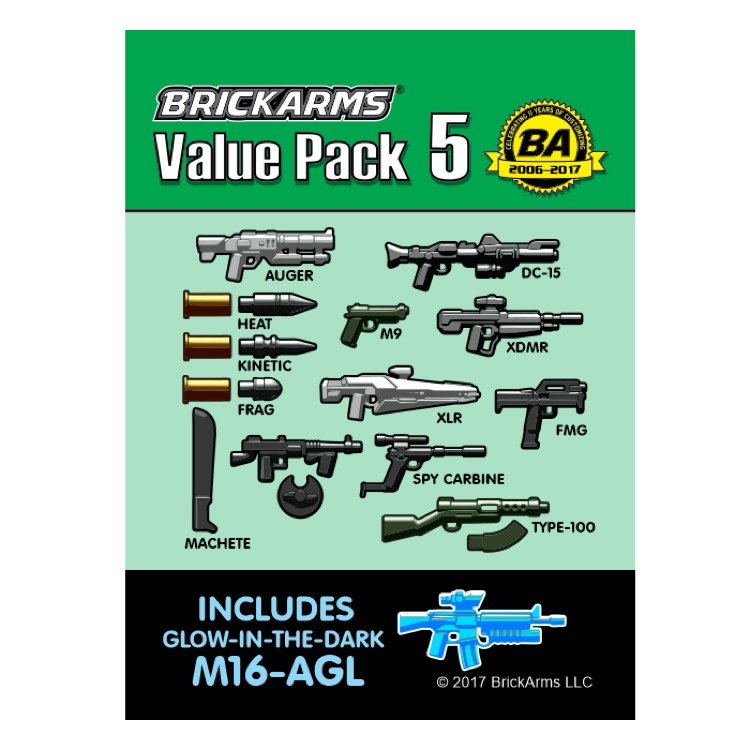 BrickArms: Value Pack 5