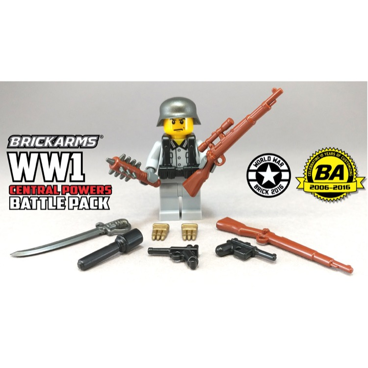 BrickArms: WW1 Central Powers Battle Pack