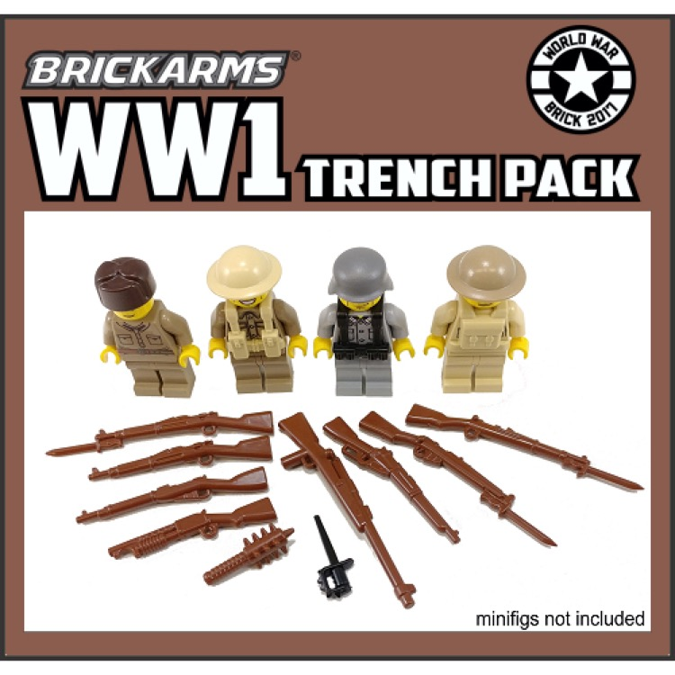 BrickArms: WW1 Trench Pack