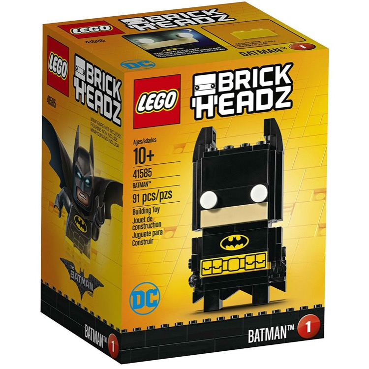 LEGO BrickHeadz Sets: 41585 Batman NEW