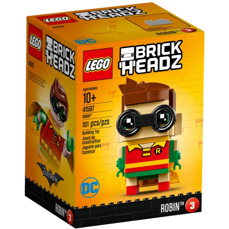 LEGO BrickHeadz Sets: 41587 Robin NEW