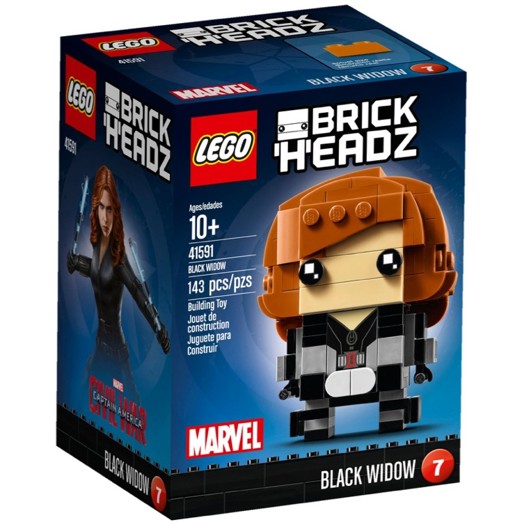 LEGO BrickHeadz Sets: 41591 Black Widow NEW