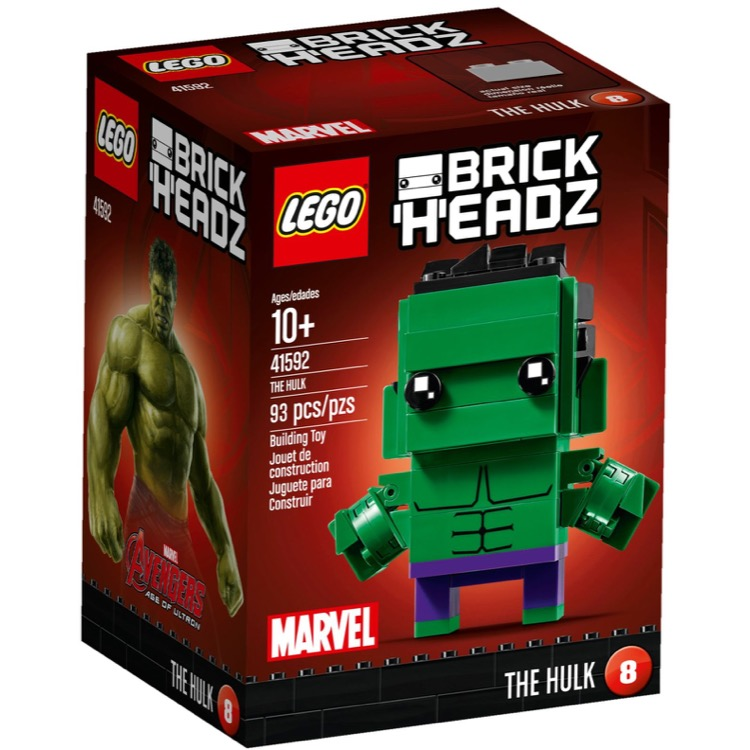 LEGO BrickHeadz Sets: 41592 The Hulk NEW