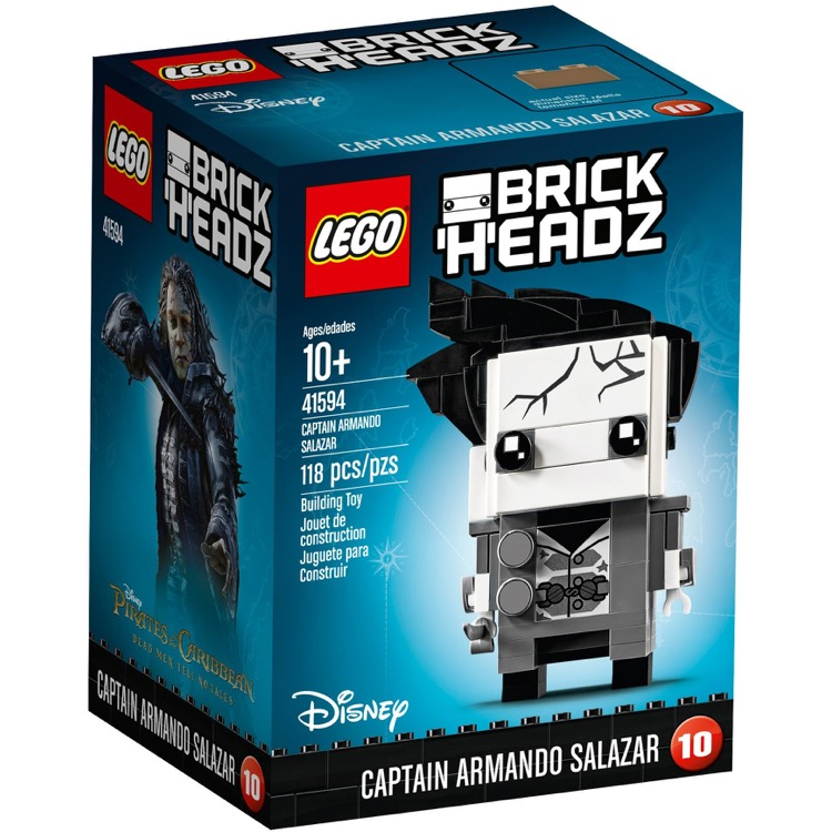 LEGO BrickHeadz Sets: 41594 Captain Armando Salazar NEW