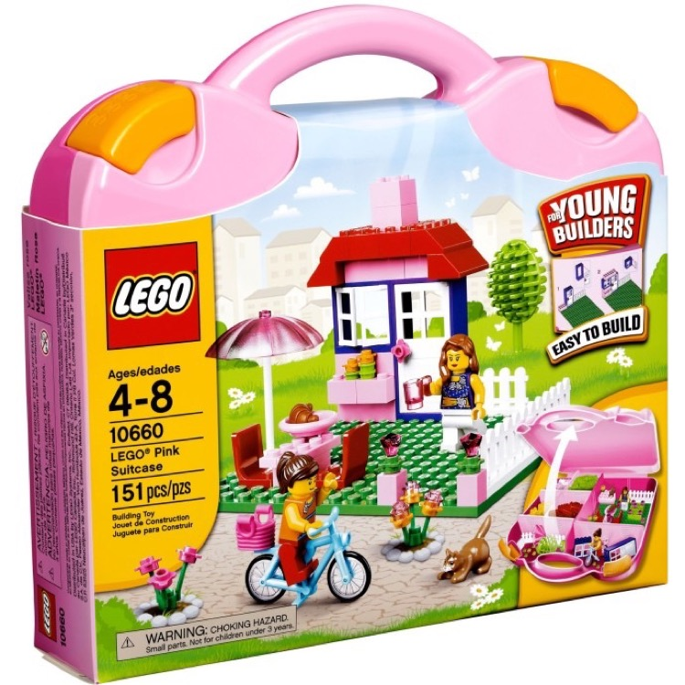 LEGO Bricks & More Sets: 10660 Pink Suitcase NEW