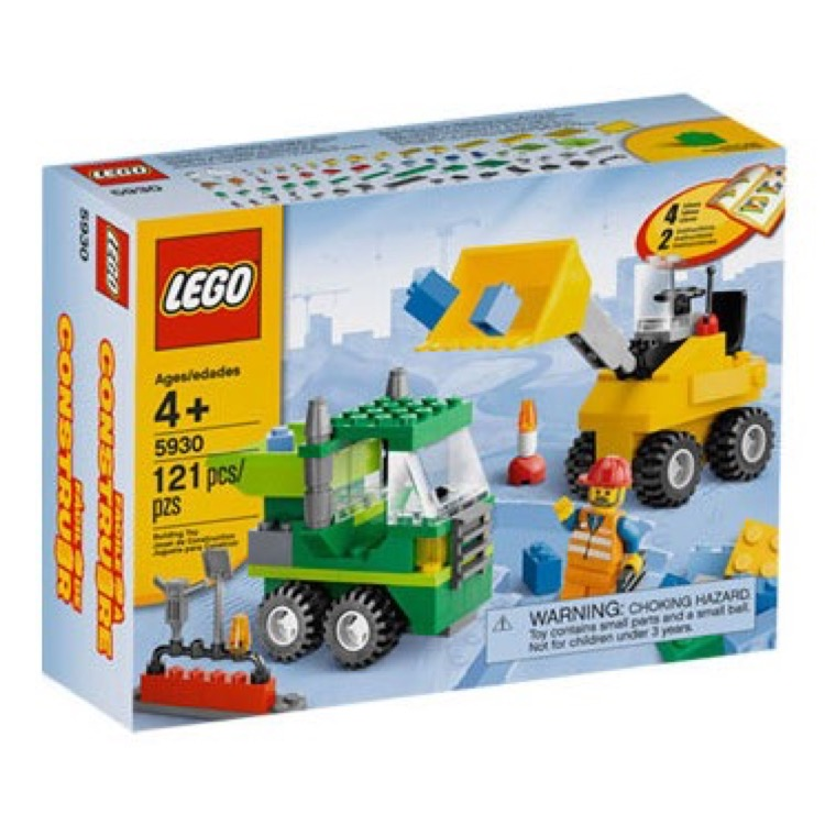 LEGO Bricks & More Sets: 5930 Road Construction Building Set NEW