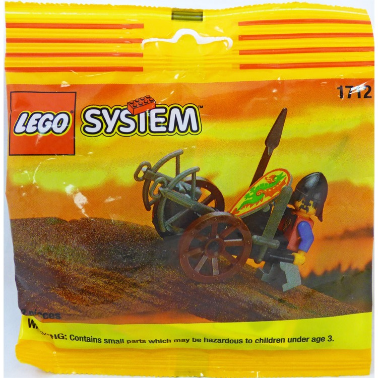 LEGO Castle Sets: Dragon Master 1712 Crossbow Cart NEW