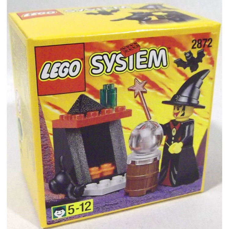 LEGO Castle Sets: Fright Knights 2872 Witch's Fireplace NEW