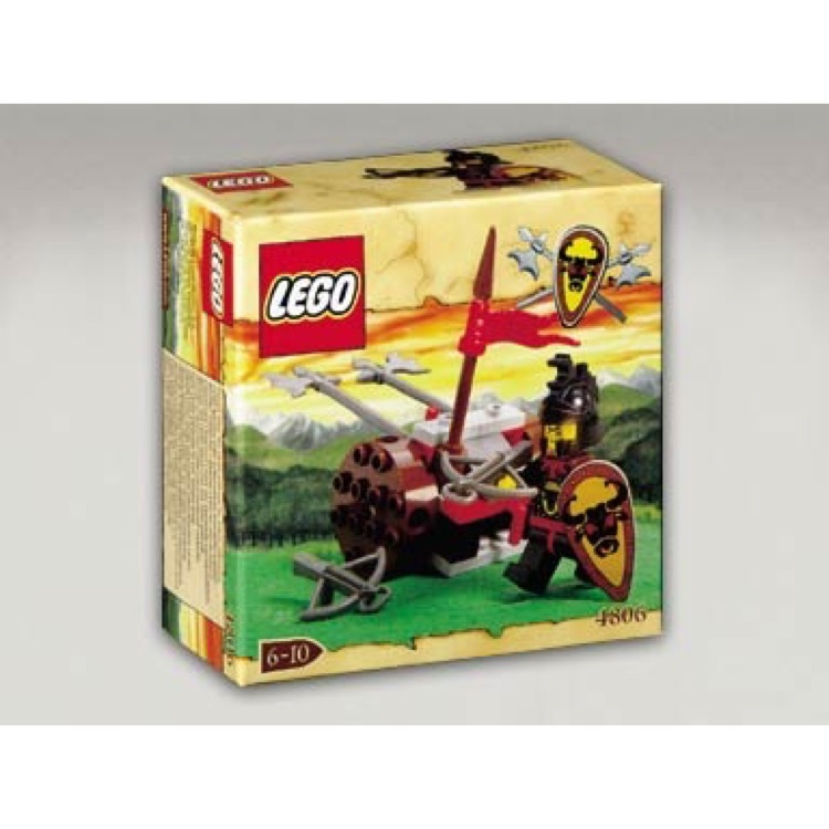 LEGO Castle Sets: Knights' Kingdom 4806 Axe Cart NEW