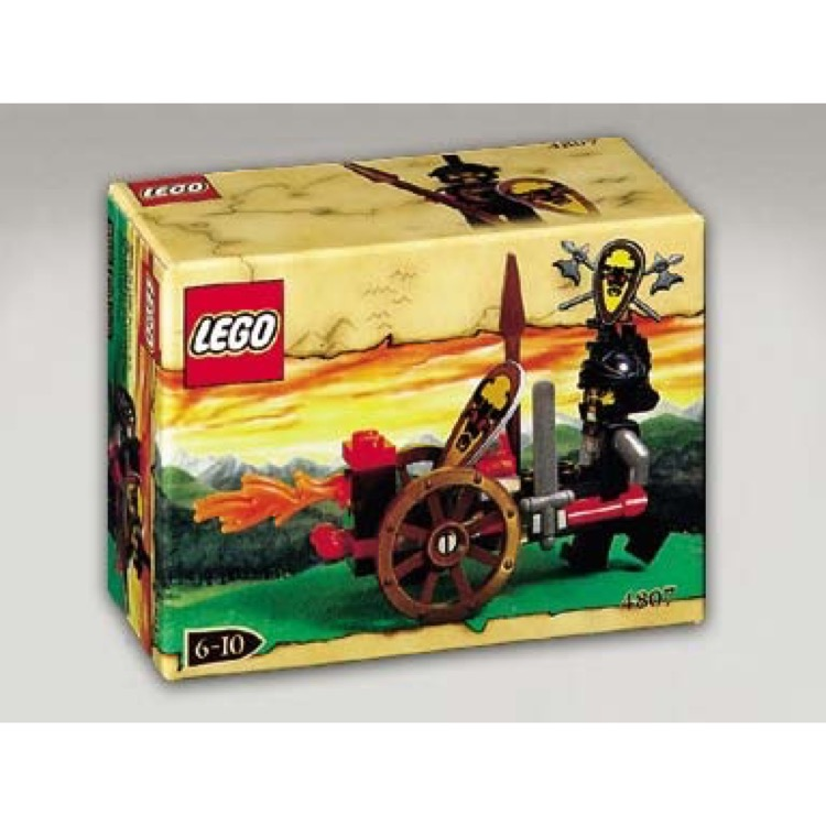 LEGO Castle Sets: Knights' Kingdom 4807 Fire Attack NEW
