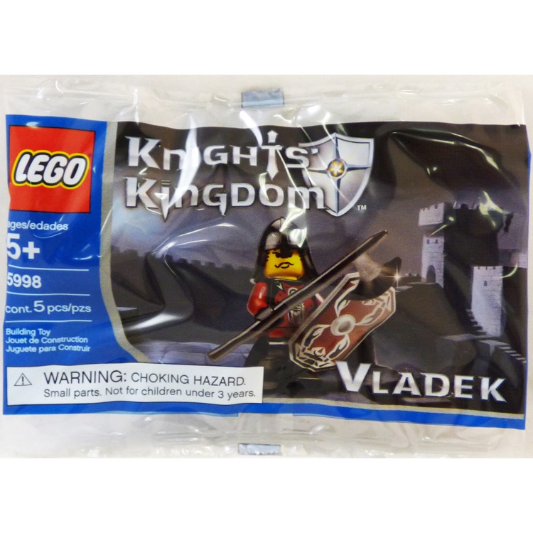 LEGO Castle Sets: Knights' Kingdom II 5998 Vladek NEW
