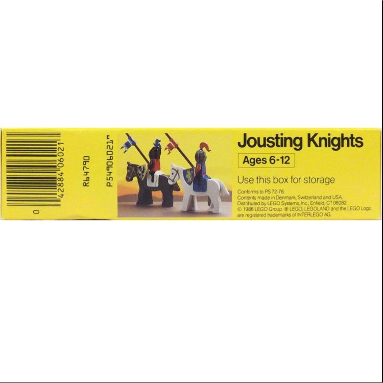 LEGO Castle Sets: LEGOLAND Castle 6021 Jousting Knights NEW