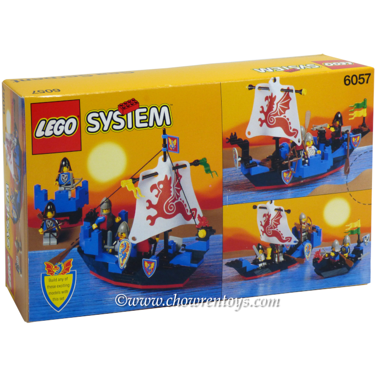 Lego Castle Sets Black Knights 6057 Sea Serpent New Rough Shape At Y1