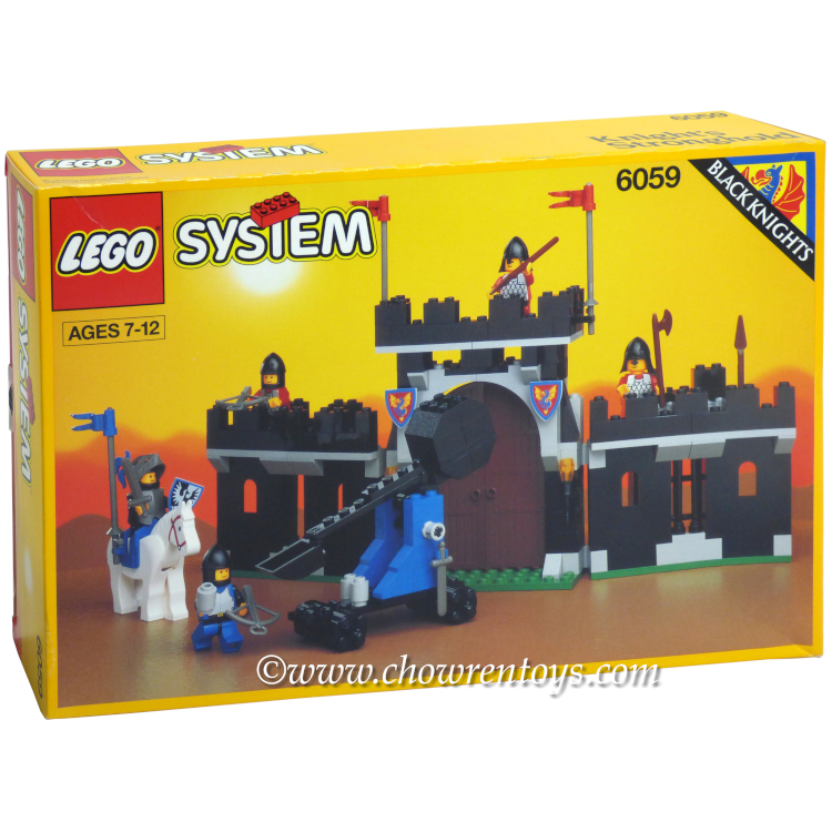 Lego Castle Sets Black Knights 6059 Knights Stronghold New