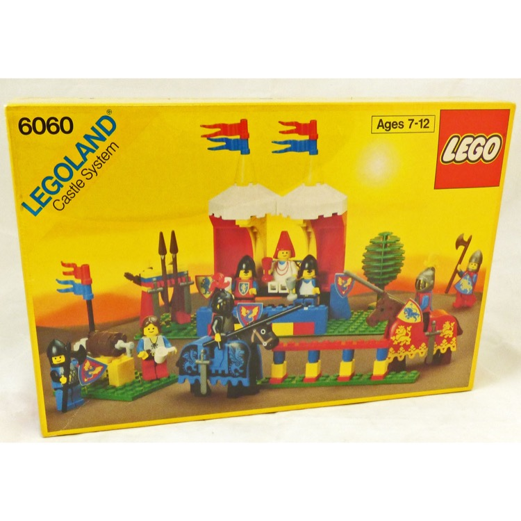 Lego Castle Sets Crusaders 6060 Knights Challenge New