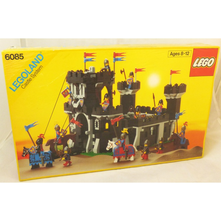 LEGO Castle Sets: Black Knights 6085 Black Monarch's Castle NEW