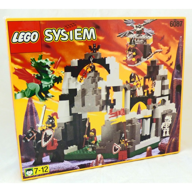 Lego Castle Sets Fright Knights 6087 Witchs Magic Manor New