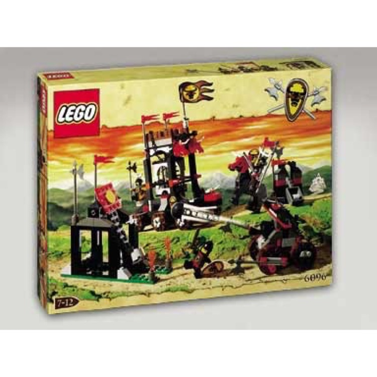 LEGO Castle Sets: Knights' Kingdom 6096 Bull's Attack NEW